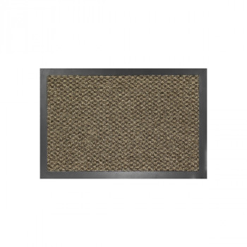 Tapis de propreté anti-poussière gris 80 x 120 cm