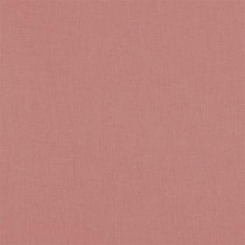 Tissu cretonne uni vieux rose oekotex 150 cm