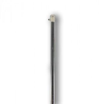 Lance rideau gris acier 90 cm