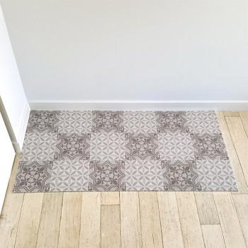 Tapis anti-poussière carreaux ciment 50 x 100 cm