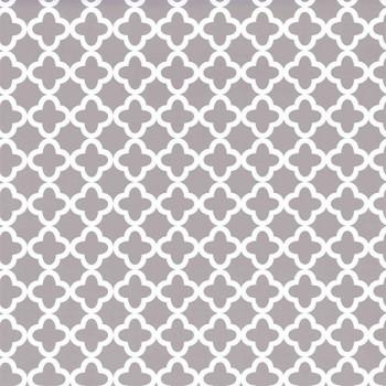 Rouleau adhésif gris imprimé baroque 45 cm