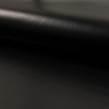 Tissu skaï noir 140 cm