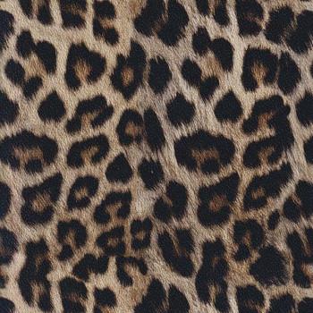Tissu simili cuir léopard 140 cm