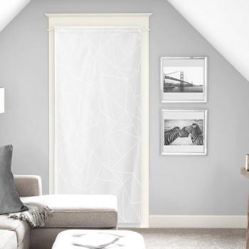 Grand vitrage étamine blanc 90 x 200 cm