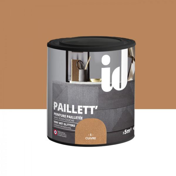 Peinture Id Déco paillett' cuivre 500 ml
