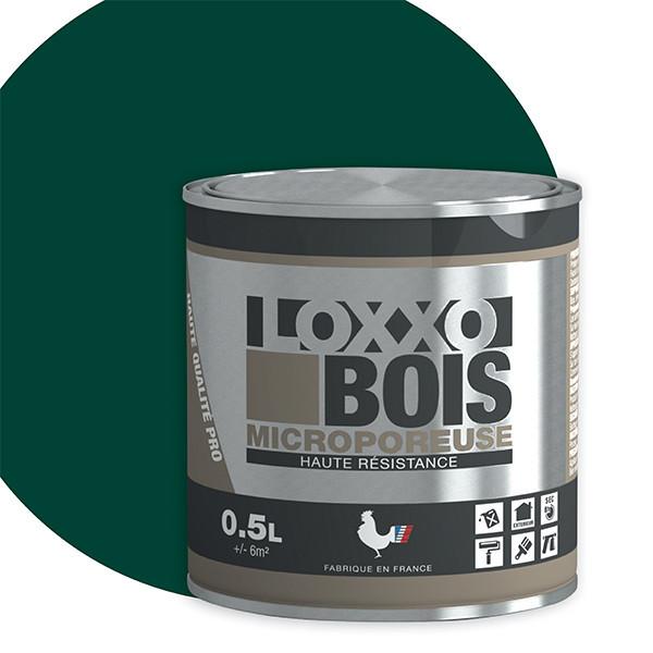 Peinture LOXXO bois vert satin 0.5L