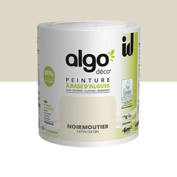Peinture Algo multi-supports Murs, plafonds et boiseries beige satin 0,5L
