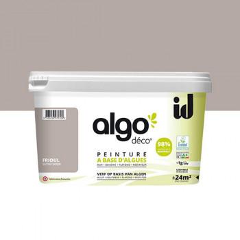 Peinture Algo multi-supports Murs, plafonds et boiseries frioul satin 2L