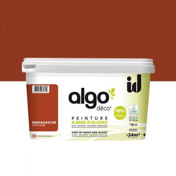 Peinture Algo multi-supports Murs, plafonds et boiseries Madagascar satin 2L