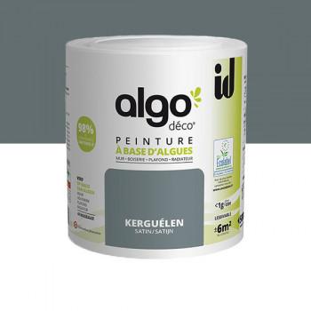 Peinture Algo multi-supports Murs, plafonds et boiseries gris satin 0,5L
