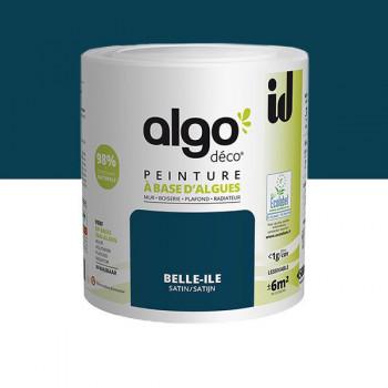 Peinture Algo multi-supports Murs, plafonds et boiseries belle-ile satin 0,5L