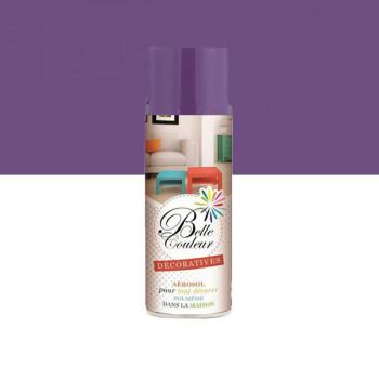 Peinture Belle couleur spray aérosol multi-supports violet 400 ML