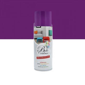 Peinture Belle couleur spray aérosol multi-supports violette 400 ML