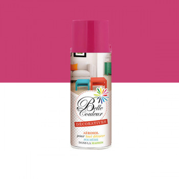 Peinture Belle couleur spray aérosol multi-supports rose 400 ML