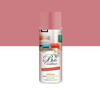 Peinture Belle couleur spray aérosol multi-supports rose bonbon 400 ML