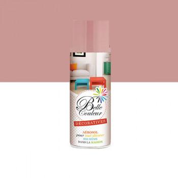 Peinture Belle couleur spray aérosol multi-supports rose pastel 400 ML