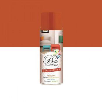 Peinture Belle couleur spray aérosol multi-supports orange pastel 400 ML