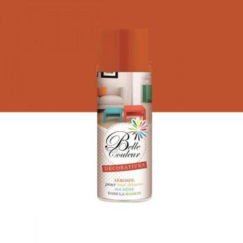 Peinture Belle couleur spray aérosol multi-supports orange 400 ML