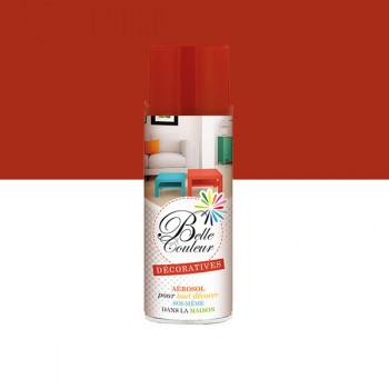 Peinture Belle couleur spray aérosol multi-supports rouge 400 ML