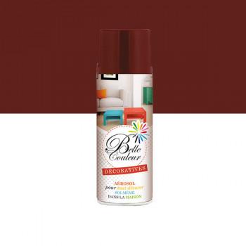 Peinture Belle couleur spray aérosol multi-supports rouge pourpre 400 ML