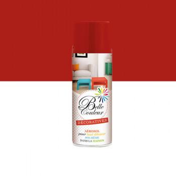 Peinture Belle couleur spray aérosol multi-supports rouge feu 400 ML