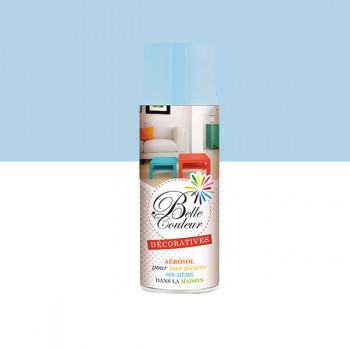 Peinture Belle couleur spray aérosol multi-supports bleu pastel 400 ML