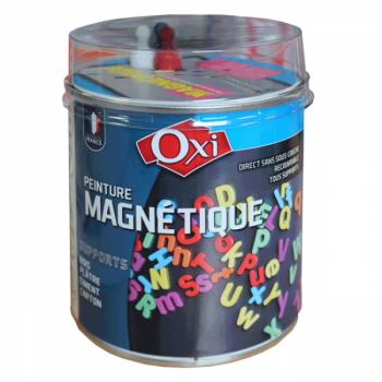 Peinture magnétique gris