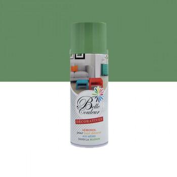 Peinture Belle couleur spray aérosol multi-supports vert amande 400 ML