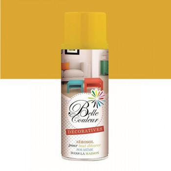 Peinture Belle couleur spray aérosol multi-supports jaune tournesol 400 ML