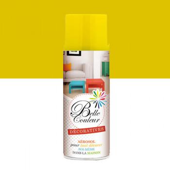 Peinture Belle couleur spray aérosol multi-supports jaune citron 400 ML