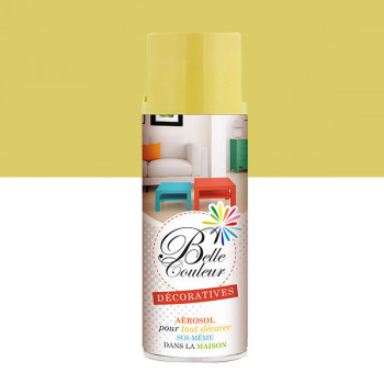 Peinture Belle couleur spray aérosol multi-supports beige ivoire 400 ML