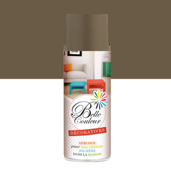 Peinture Belle couleur spray aérosol multi-supports taupe 400 ML