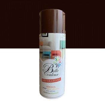 Peinture Belle couleur spray aérosol multi-supports marron 400 ML