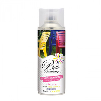 Peinture sous couche PVC Belle couleur spray aérosol 400 ML