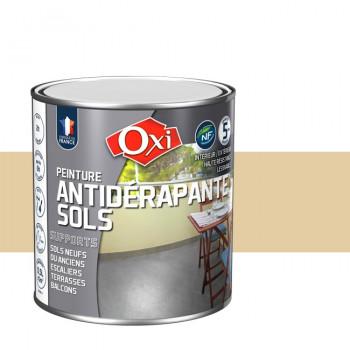 Peinture beige anti-dérapante sols OXITOL 0.5L