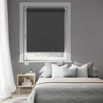 Store enrouleur jour/nuit anthracite 52 x 190 cm
