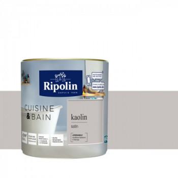 Peinture RIPOLIN cuisine & bain satin kaolin