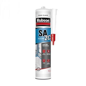 Cartouche silicone RUBSON sanitaire gris clair