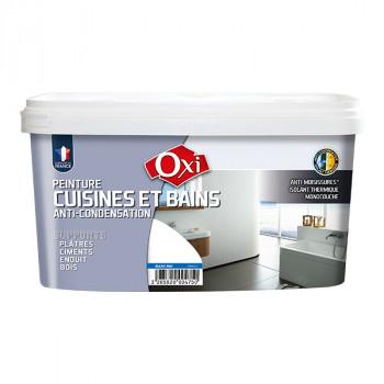 Peinture Oxi multi-supports Cuisine & bain blanc 2,5L