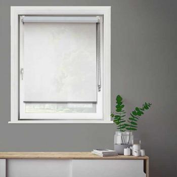 Store enrouleur jour/nuit blanc 42 x 190 cm