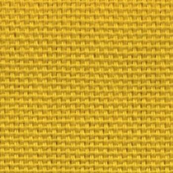 Tissu bachette uni jaune curcuma 280 cm