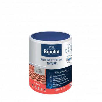 Peinture Ripolin anti-infiltration toiture dip etanch gris béton 0,75 L