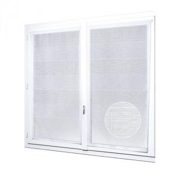 Grand vitrage blanc 90 x 200 cm