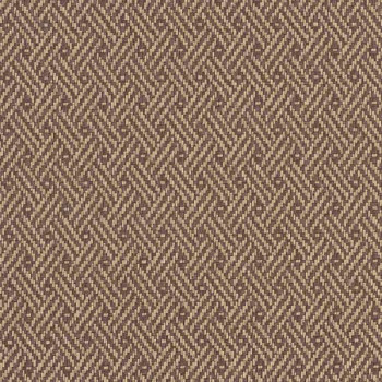 Tissu simili cuir marron effet tressé 140 cm