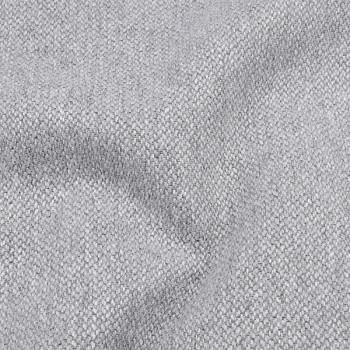 Tissu toile chiné coton Oekotex gris 145 cm