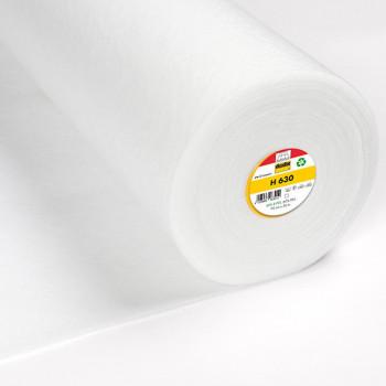 Tissu molleton thermocollant 95G blanc 90 cm