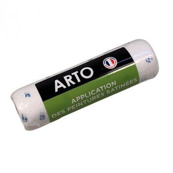 Manchon ARTO finition satin et velours 180mm