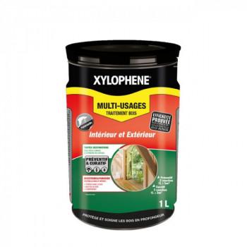 Peinture Xylophene multi-usages traitement spécial bois incolore 1 L