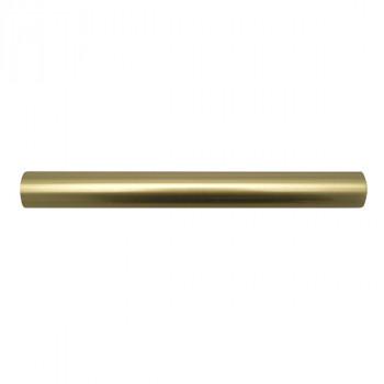 Tube fer forgé Olympe doré 150 cm