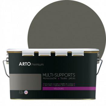 Peinture Arto Premium multi-supports Gris Souris velours 2,5L